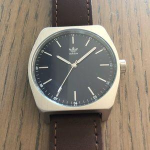 Adidas by Nixon leather strap watch